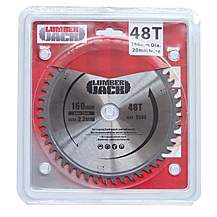 image of Lumberjack Tct Circular Saw Wood Blade 160mm X 48t For Festool Ts55 Laser Cut
