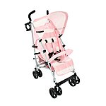 image of Billie Faiers Mb01 Pink Stripe Stroller