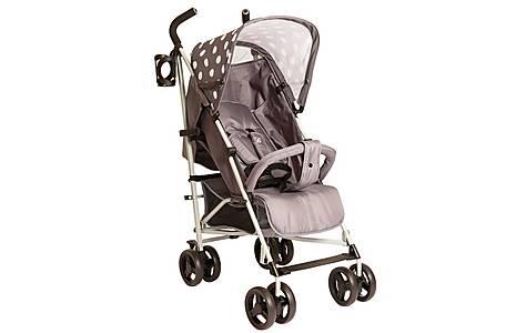 image of Billie Faiers Mb01 Grey Polka Stroller