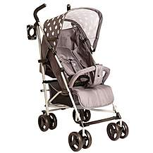 image of Billie Faiers Mb01 Grey Polka Stroller