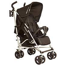 image of My Babiie Mb01 Black Stroller