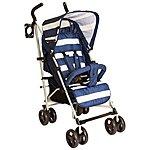 image of Billie Faiers Mb01 Blue Stripes Stroller