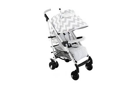 image of Billie Faiers Mb50 Grey Chevron Stroller