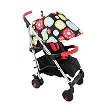 image of My Babiie Mb50 Floral Stroller