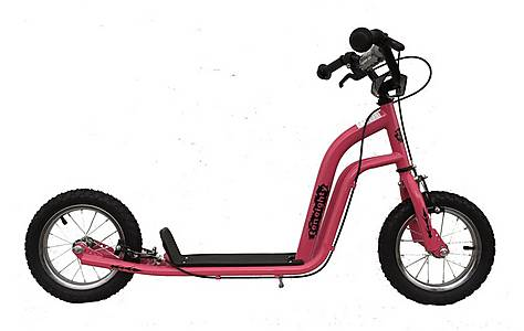 image of 1080 Kids Childs UH Push Stunt Kick Scooter 12inch Pneumatic Tyres Pink