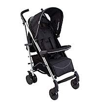 image of My Babiie Mb50 Black Stroller