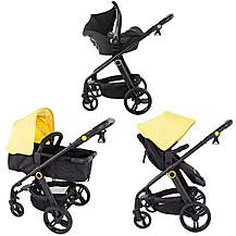 image of My Babiie Mb150y Yellow Pram