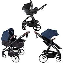 image of My Babiie Mb150d Denim Pram