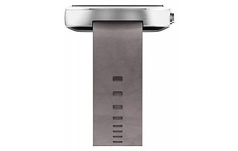 image of Moto 360 Smartwatch Light Chrome/light Leather Strap