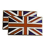 image of Mountney Classic Self Adhesive Enameled Union Jack Badge