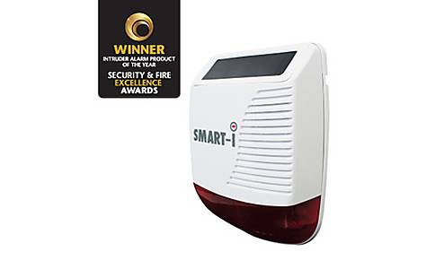 image of Smart Wireless External Ip65 Solar Siren