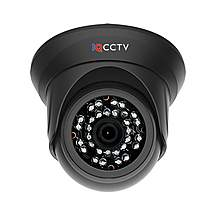 image of Hd1080p Vandal Resistant Ir Dome Camera With 3.6mm Lens And 20m Ir Night Vision (black Casing)
