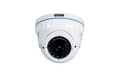 image of Hd1080p Vandal Resistant Ir Dome Camera With 2.8 To 12mm Lens And 30m Ir Night Vision (white Casing)