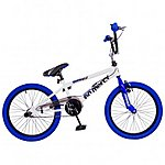 image of Rooster No Mercy 20inch Spoke White/blue Bmx Freestyler Bike