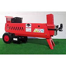 image of Forest Master 8ton Fm16d Hydraulic Log Splitter With Duo Blade, Ram Stop Wood Axe