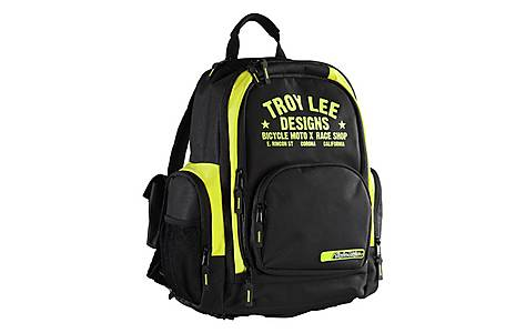 image of Troy Lee - Luggage Basic Backpack - Race Shop Yellow My16 Yellows