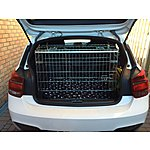 image of Pet World Uk Bmw Car Dog Cage Crate For 1 Series, 320 And X3 Pet Safe Traveling
