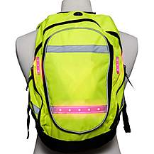 image of Visijax High Visibility Led Cycling Backpack