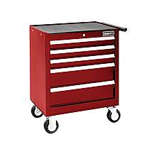 image of Britool Roller Cabinet 5 Drawer - Red