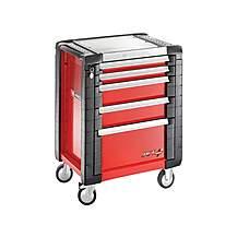 image of Facom Jet.5m3 5 Drawer Roller Cabinet Red