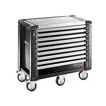 image of Facom Jet.9gm5 Roller Cabinet 9 Drawer Black