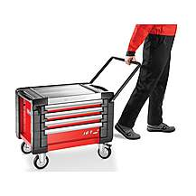 image of Facom Jet.cr4m3 Mobile Chest Jet M3 4 Drawer Red