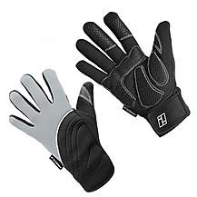 image of Indigo 3 Season Neoprene Cycling Gloves - Grey - Xx Large
