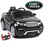 image of Range Rover Evoque - 12v Licensed Electric Ride On Car - Black