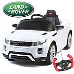 image of Range Rover Evoque - 12v Licensed Electric Ride On Car - White