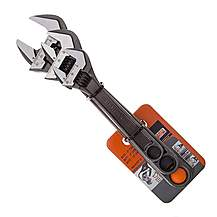 image of Bahco ADJUST3 80 Series Adjustable Wrench Set 3 Pieces