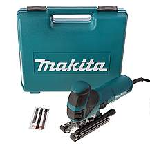 image of Makita 4351FCT Jigsaw Orbital Action with Tool-less Blade Fixing and Job Light 110V