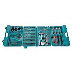 image of Makita P-44046 216 Piece Complete Drill And Bit Set