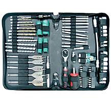 image of Makita P-52065 79 Piece Technicians Pouch Drill And Screwdriver Bit Set