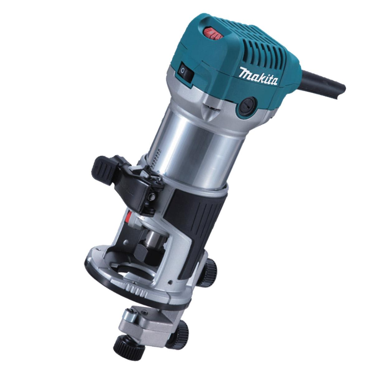 Makita RT0700CX4 Router / Laminate Trimmer with Trimmer Guide 240V lowest price