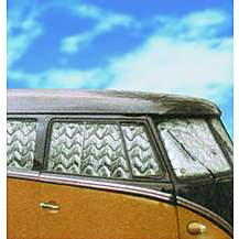 image of Summit Internal Thermal Blinds To Fit Vw Transporter T2 With Split Window 11 Piece Set