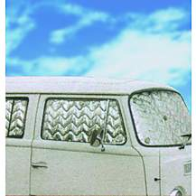 image of Summit Internal Thermal Blinds To Fit Vw Transporter T2  Bay Window 8 Piece Set