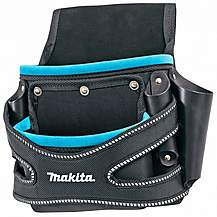 image of Makita P-71750 2 Pocket Fixings Pouch Blue