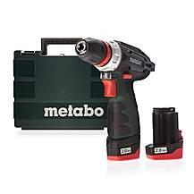image of Metabo 600156580 10.8V PowerMaxx BS Quick Basic Drill Driver, 2 x 2.0Ah Batteries