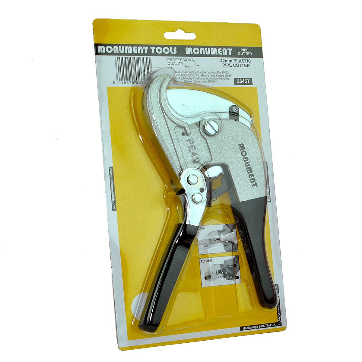Monument 2645T Plastic Pipe Cutter 42mm lowest price