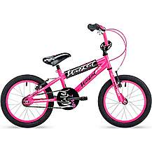 image of Concept Wicked Girls Single Speed Bmx Bike, 16in Wheel, Neon Pink