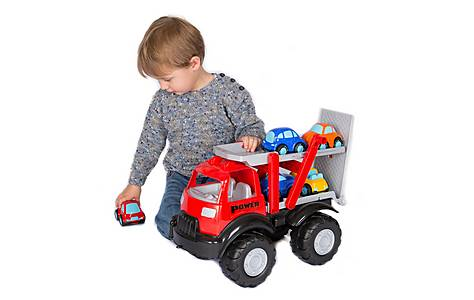 image of Transporter Truck Playset