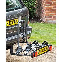 image of Bnb Explorer Towball Mounted Tilting 2 Bike Cycle Carrier