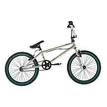 image of Raleigh Diamondback Girls Or Boys Option Bmx Freestyle 20in Bike In Silver