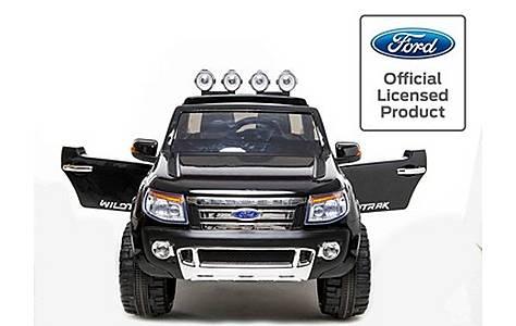 image of Licensed Ford Ranger -12v Kids Electric Ride On Jeep - Special Black