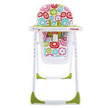 image of My Babiie Mbhc8fl Floral Premium Highchair
