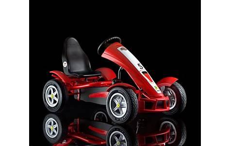 image of Ferrari Fxx Racer Kids Pedal Go Kart - Red