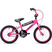 Concept Wicked Girls Single Speed Bmx Bike 18in Wheel Neon Pink
