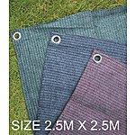 image of Summit Weaveatex Green Caravan Awning Carpet ,groundsheet  2.5m X 2.5m