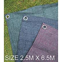 image of Summit Weaveatex Blue Caravan Awning Carpet ,groundsheet  2.5m X 6.5m