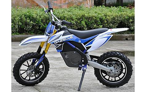 image of Rage Raptor Db500 Dirt Bike - 36v Electric Kids Motorbike - Blue